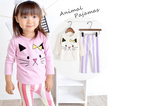 kid's cat pajama