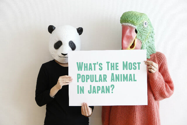 Japanese most popular animals