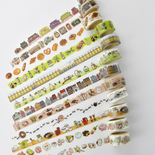 ROUND TOP Washi Tape