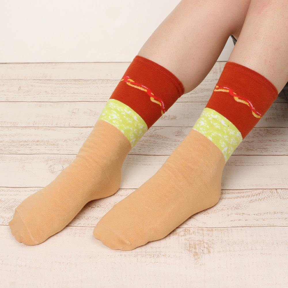 Japanese Unique Socks Fake Food