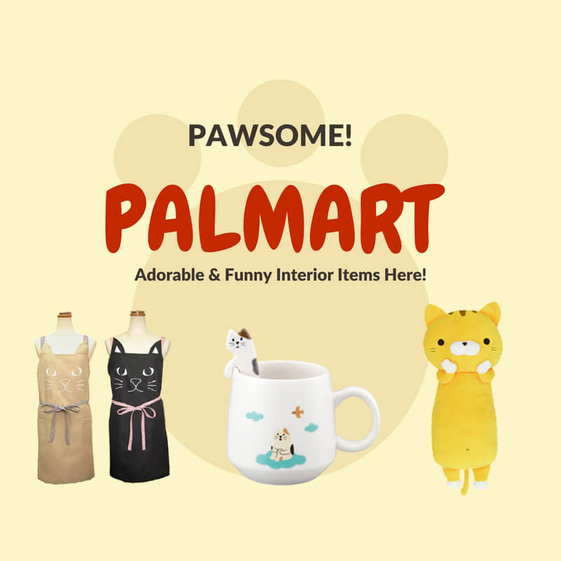 Japanese popular suppliers palmart cat items