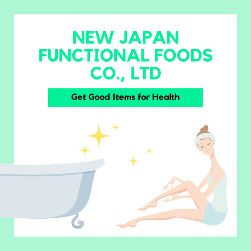 Japanese popular suppliers beauty items new japan functional food