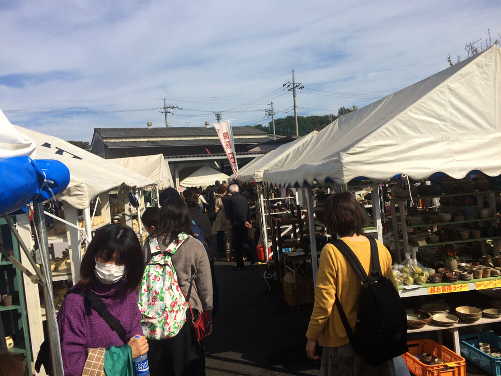 Visited Mashiko Autumn Toki-Ichi Pottery Fair in 2017