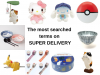 The most searched terms on SUPER DELIVERY