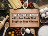 Kitchen Tools That Brighten Your Kitchen