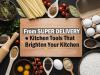 Kitchen Tools That Brighten Your Kitchen