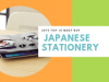 2019 Top 10 Must Buy Japanese Stationery